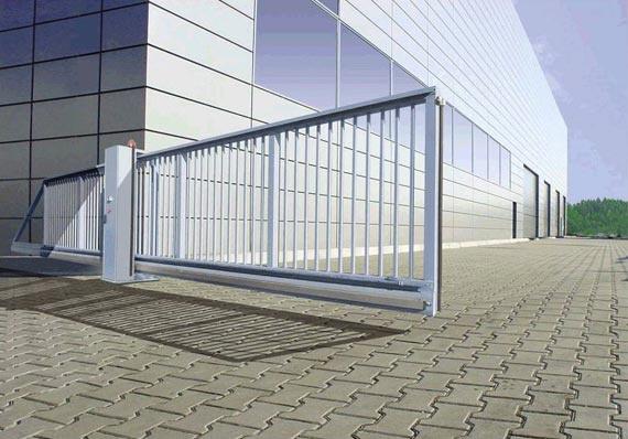 Výsuvná brána